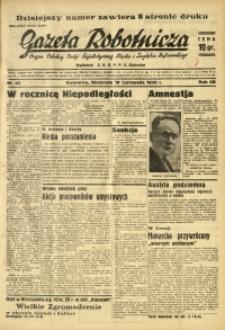 Gazeta Robotnicza, 1935, R. 40, nr 301