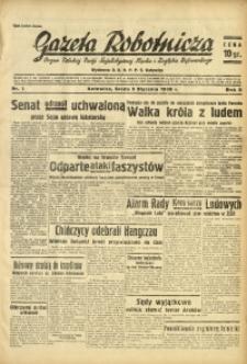 Gazeta Robotnicza, 1938, R. 5, nr 1