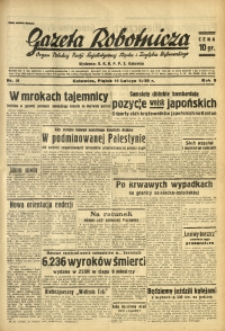 Gazeta Robotnicza, 1938, R. 5, nr 36