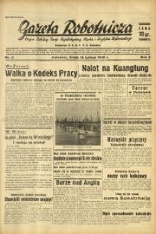 Gazeta Robotnicza, 1938, R. 5, nr 41