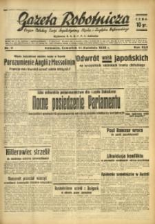 Gazeta Robotnicza, 1938, R. 42, nr 91