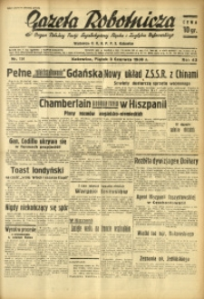 Gazeta Robotnicza, 1938, R. 42, nr 134