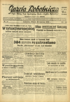 Gazeta Robotnicza, 1938, R. 42, nr 157