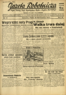 Gazeta Robotnicza, 1938, R. 42, nr 271