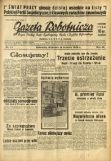 Gazeta Robotnicza, 1938, R. 42, nr 315