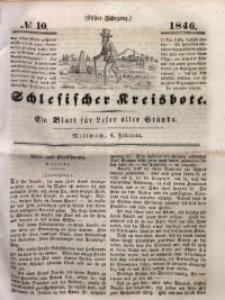 Schlesischer Kreisbote, 1846, Jg. 11, No. 10