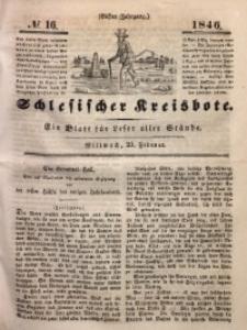 Schlesischer Kreisbote, 1846, Jg. 11, No. 16