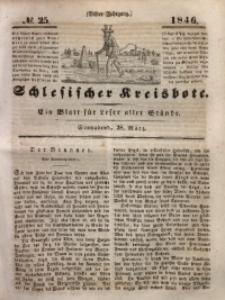 Schlesischer Kreisbote, 1846, Jg. 11, No. 25