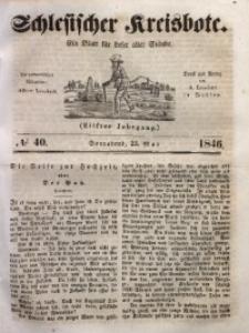 Schlesischer Kreisbote, 1846, Jg. 11, No. 40
