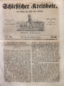 Schlesischer Kreisbote, 1846, Jg. 11, No. 85