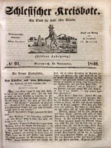Schlesischer Kreisbote, 1846, Jg. 11, No. 91