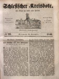 Schlesischer Kreisbote, 1846, Jg. 11, No. 93
