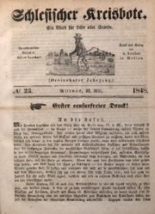 Schlesischer Kreisbote, 1848, Jg. 13, No. 23