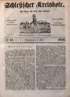 Schlesischer Kreisbote, 1848, Jg. 13, No. 51