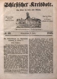Schlesischer Kreisbote, 1848, Jg. 13, No. 53