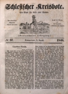 Schlesischer Kreisbote, 1848, Jg. 13, No. 61