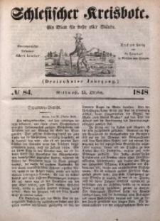 Schlesischer Kreisbote, 1848, Jg. 13, No. 84