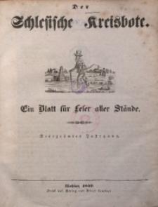 Schlesischer Kreisbote, 1849, Jg. 14, No. 1