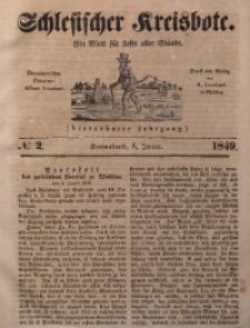 Schlesischer Kreisbote, 1849, Jg. 14, No. 2