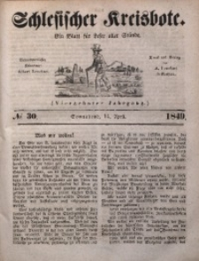 Schlesischer Kreisbote, 1849, Jg. 14, No. 30