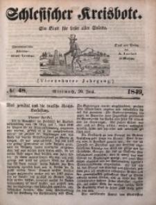 Schlesischer Kreisbote, 1849, Jg. 14, No. 48