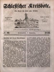 Schlesischer Kreisbote, 1849, Jg. 14, No. 69