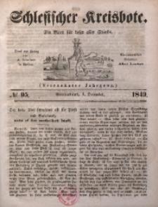 Schlesischer Kreisbote, 1849, Jg. 14, No. 95
