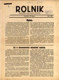 Rolnik, 1932, [R. 30, nr2], 10 lutego