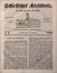 Schlesischer Kreisbote, 1850, Jg. 16, No. 6