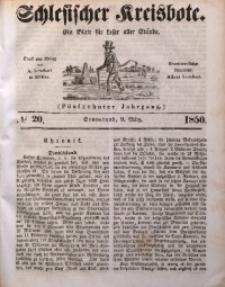 Schlesischer Kreisbote, 1850, Jg. 16, No. 20