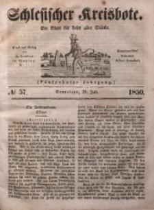 Schlesischer Kreisbote, 1850, Jg. 16, No. 57