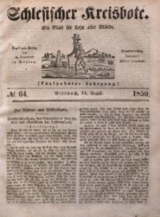 Schlesischer Kreisbote, 1850, Jg. 16, No. 64