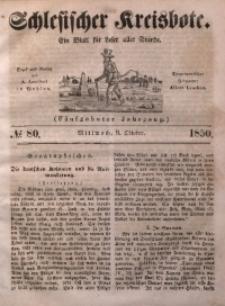 Schlesischer Kreisbote, 1850, Jg. 16, No. 80