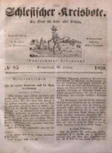 Schlesischer Kreisbote, 1850, Jg. 16, No. 85