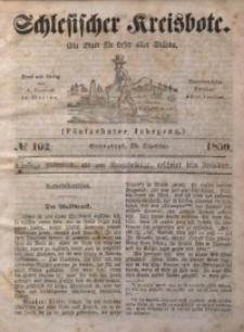 Schlesischer Kreisbote, 1850, Jg. 16, No. 102