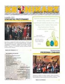 Kronikarz Gminy Prószków 2013, nr 3.