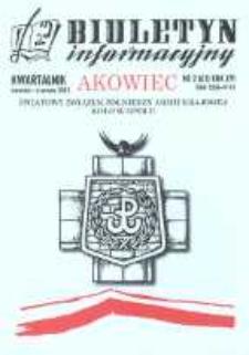"""Biuletyn Informacyjny """"Akowiec"""". R. 16, nr 2 (61)."""