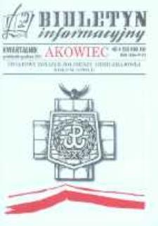 """Biuletyn Informacyjny """"Akowiec"""". R. 14, nr 4 (55)."""