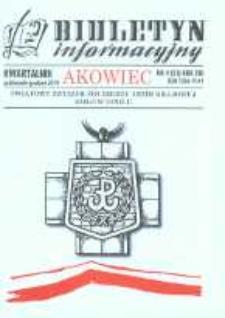 """Biuletyn Informacyjny """"Akowiec"""". R. 13, nr 4 (51)."""