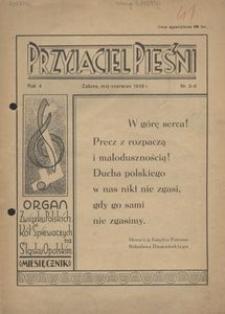Przyjaciel Pieśni, 1939, R. 4, nr 5/6