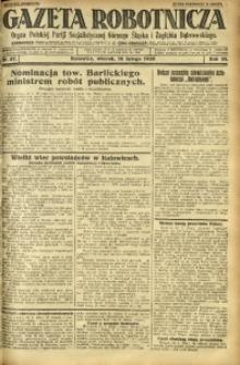 Gazeta Robotnicza, 1926, R. 31, nr 37
