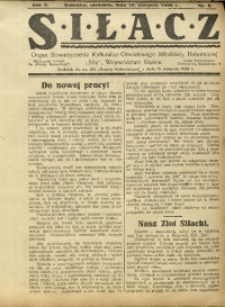 Siłacz, 1926, R. 5, nr 8
