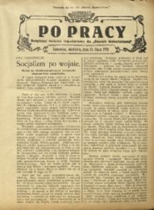 Po Pracy, 11 lipca 1926