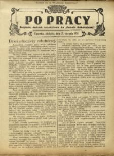 Po Pracy, 29 sierpnia 1926