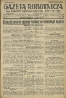 Gazeta Robotnicza, 1928, R. 33, nr 9