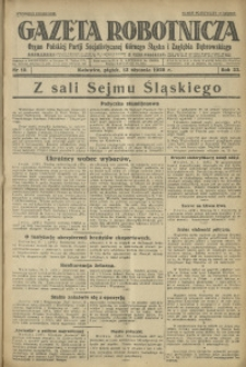 Gazeta Robotnicza, 1928, R. 33, nr 10