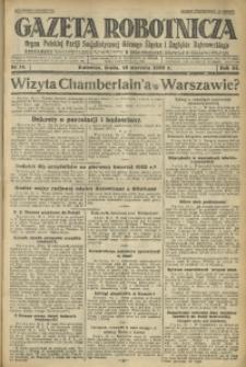 Gazeta Robotnicza, 1928, R. 33, nr 14
