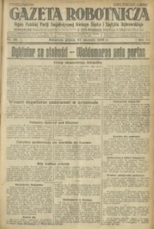Gazeta Robotnicza, 1928, R. 33, nr 22