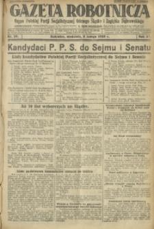 Gazeta Robotnicza, 1928, R. 33, nr 29