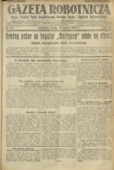Gazeta Robotnicza, 1928, R. 33, nr 43